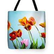 Tulips Tote Bag by Trevor Wintle