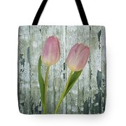 Tulips Two Tote Bag