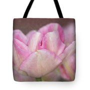 Tulips With Texture Tote Bag