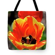 Tulips Yellow Red Tote Bag