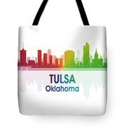 Tulsa Ok 1 Squared Tote Bag
