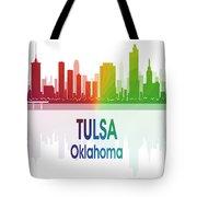 Tulsa Ok 1 Vertical Tote Bag