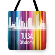 Tulsa Ok 2 Vertical Tote Bag