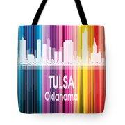 Tulsa Ok 2 Vertical Tote Bag