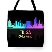 Tulsa Ok 5 Squared Tote Bag