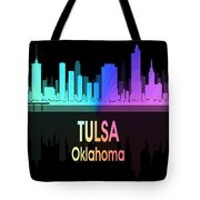 Tulsa Ok 5 Vertical Tote Bag