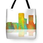 Tulsa Oklahoma Skyline-1 Tote Bag