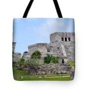 Tulum Mayan Ruins Tote Bag