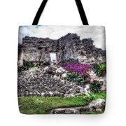 Tulum Temple Ruins No.2 Tote Bag