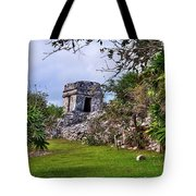 Tulum Watchtower Tote Bag