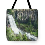 Tumalo Falls Tote Bag by Margaret Pitcher
