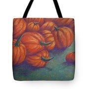 Tumbled Pumpkins Tote Bag