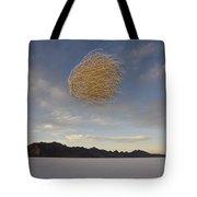 Tumbleweed In Mid Air Tote Bag