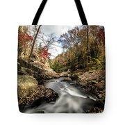 Tumbling Water Tote Bag
