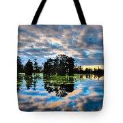 Tumultuous Swamp Tote Bag