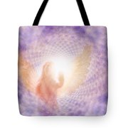 Tunel Of Light Tote Bag