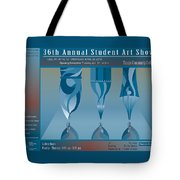 Tunis Cc Art Show Poster Tote Bag