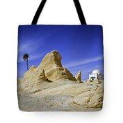 Tunisian Desertscape Tote Bag