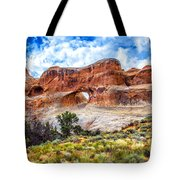 Tunnel Arch Trail View Tote Bag