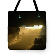 Tunnel Exit Tote Bag