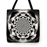 Tunnel Illusion Tote Bag