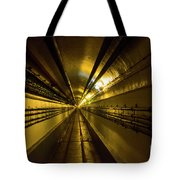 Tunnel In Schoenenbourg Fort, France Tote Bag