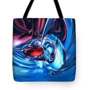 Tunnel Lust Abstract Tote Bag