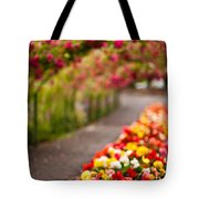 Tunnel Of Roses Tote Bag