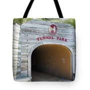 Tunnel Park, Holland Mi Tote Bag