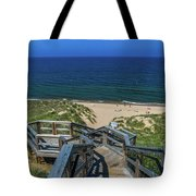 Tunnel Park Holland Michigan Tote Bag