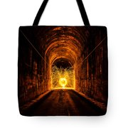 Tunnel Sparks Tote Bag