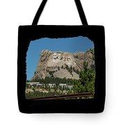 Tunnel View Mt Rushmore 2 A Tote Bag