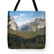 Tunnel View Shadow Tote Bag