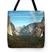 Tunnel View Yosemite Tote Bag