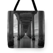 Tunnel Vision Bw  Tote Bag