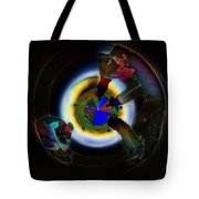Tunnel Vision Up The Drain Tote Bag