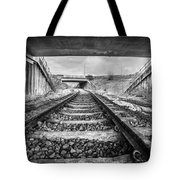 Tunnels And Tracks Tote Bag