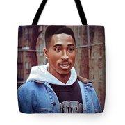 Tupac Shakur Drawing Tote Bag