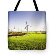 Turbine Fields Tote Bag