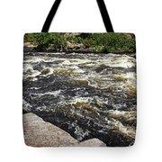 Turbulent Dalles Rapids Tote Bag