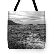 Turbulent Loch Ness In Monochrome Tote Bag