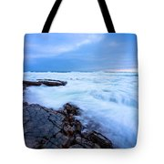 Turbulent Pacific Tote Bag