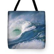 Turbulent Shorebreak Tote Bag