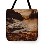 Turbulent Waters Tote Bag