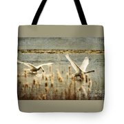 Turf Wars Tote Bag by Lois Bryan
