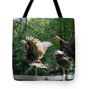 Turkey Dance Tote Bag