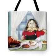 Turkey Girl Tote Bag