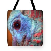 Turkey Head Shot Tote Bag