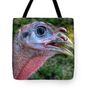Turkey Named Thanksgiving Tote Bag