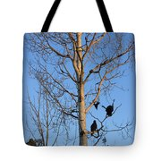 Turkey Vulture Tree Tote Bag